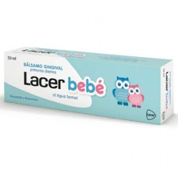 lacer balsamo gingival primeros dientes 50ml
